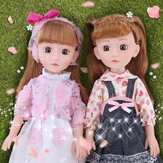 巴比洋娃娃智能会说话的婴儿仿真喝水尿尿塘软胶儿童公主玩具女孩