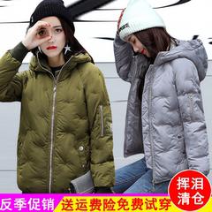 棉袄女2018新款反季棉服女清仓韩版加厚短款学生冬季时尚棉衣女装