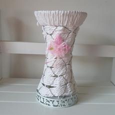 简约时尚现代藤编铁艺编织花瓶 家居装饰摆件假花插花花器盆 包邮