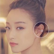 韩国耳骨夹个性耳钉女耳扣日韩气质简约防过敏耳环无耳洞耳夹耳饰