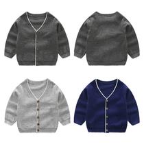男童针织开衫毛衣长袖冬款2019春装新款儿童装宝宝线衫韩版毛衣潮