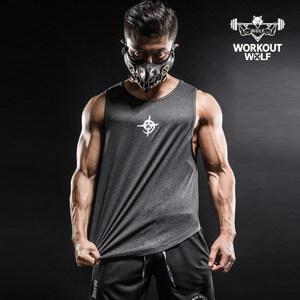 WorkoutWolf撸铁狼 <span class=H>夏季</span>无袖健身背心男 宽松<span class=H>训练</span><span class=H>服</span><span class=H>速干</span>运动上衣