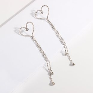 Magnesia 2E4740 Korean version of simple earrings joker styl