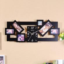 钟表个性 家居钟饰客厅卧室相框静术挂钟