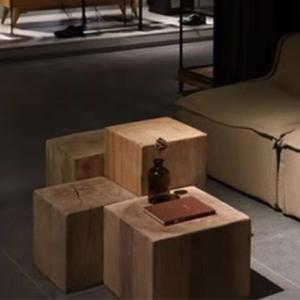 欧式 span class=h>木墩 /span>原木凳创意实木凳树桩木桩茶几 span