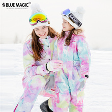 Bluemagic Boys and Girls Conjoined Child Skiing Suit Skiing Trousers Waterproof Skiing Equipment