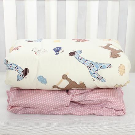 优睡宝全棉儿童被婴儿春秋冬加厚纯棉被宝宝盖被幼儿园被100*130