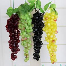 仿真水果挂饰 仿真葡萄串 假水果串 以假乱真 摄影道具 装饰品