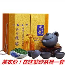 2017安溪铁观音浓香型  送茶具新茶 乌龙茶兰花香茶叶礼盒装500g