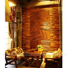 马赛克古船木马赛克背景墙装饰材料板酒吧玄关客厅吧台家装艺术