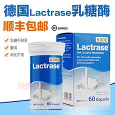 德国乳糖酶Lactrase婴幼儿童乳糖不耐受宝宝腹泻乳糖酶6000单位