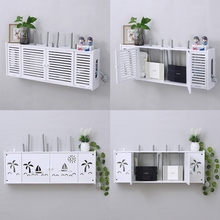 Wifi Router Receiving Box, Insertion Board, Hub Sheathing Box, Cat Set Top Box Settings, Wall Hanging Wall Free of Holes