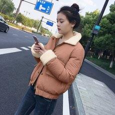 2017冬季面包服女短款显瘦棉衣韩版新款羊羔毛棉衣时尚棉衣女短款