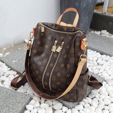 201 New Star Same Edition a-lv8 Women's Bag Bucket Classic British Retro Travel Shoulder Backpack