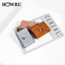 钱包女短款 小多卡位ins超火小众设计师学生韩版 可爱皮夹零钱包