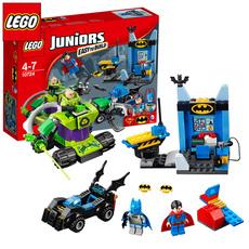 LEGO乐高积木大电影人仔战车小丑儿童益智拼装玩具蝙蝠侠大战超人