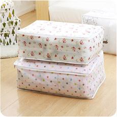 无纺布收纳袋装被子的袋子棉被特大号衣服防尘袋防潮手提搬家袋