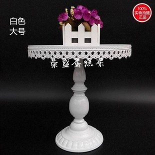 european-style wrought iron high cake stand  propswedding