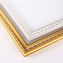 缘色数字油画外框油彩画相框装饰画木框欧式简约现代实组合PS画框