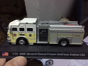 1:73 2006 Monarch Rescue Pumper small body合金消防车汽车模型