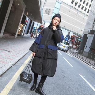 3S家原创女装冬季2016新款欧洲站中长款冬天棉袄加厚保暖棉衣外套