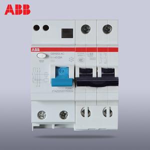 ABB双极触电保护器2P16A20A25A32A40A50A63A漏电保护器GSH200系列