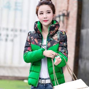 反季棉衣女2018冬季新款韩版修身短款休闲轻薄棉服外套立领小棉袄