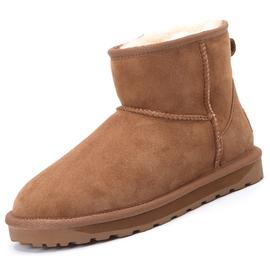 澳洲雪地靴女短筒皮毛一体短靴