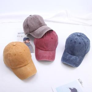 韩版水洗牛仔棒球帽青年学生休闲百搭鸭舌帽复古牛仔男女遮阳帽子