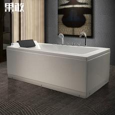 现货高靠背珠光板亚克力1.4-1.7米冲浪恒温加热按摩Z281浴桶浴缸