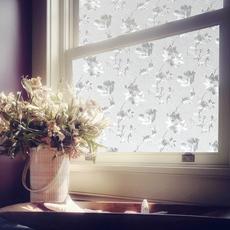 加厚3D静电玻璃贴膜卫生间移门不透贴纸防晒磨砂窗户浴室窗花纸