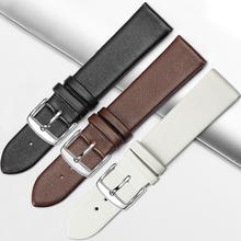新款柔软舒适手表皮带男女士配件代用天梭浪琴卡西欧美度天王dw