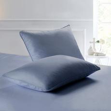 圣恩纯棉13372信封枕套拼色纯色枕套单人标准枕套