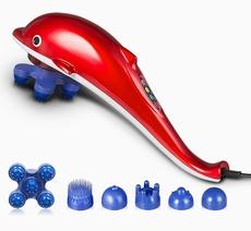 插电式手持手拿家用红光海豚按摩棒器电动敲打锤多功能全身