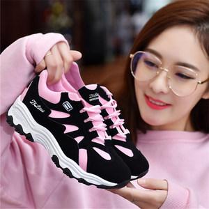 2018夏新款运动鞋女韩版学生网面透气<span class=H>单鞋</span>百搭休闲鞋女鞋跑步鞋春