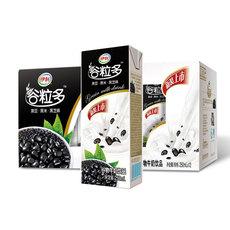 伊利谷粒多黑谷苗条装谷物牛奶早餐奶250ml*12盒整箱