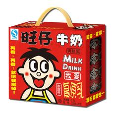 旺旺 旺仔牛奶125ml*20包礼盒儿童早餐复原乳牛奶 新疆西藏不发货