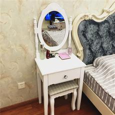【新款】欧式梳妆台卧室小户型简约现代  迷你简易化妆桌经济型柜