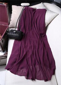 吊排价<span class=H>959</span>~高贵紫~飘逸仙女雪纺半身裙子中长款BD01150 BD01227