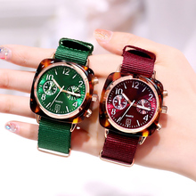 2009 New ins Windscreen Watch Female Net Red Couple Fashion Student Waterproof Large Watchboard Quartz Watch