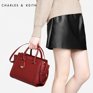 CHARLES&KEITH 翅膀<span class=H>包</span> CK2-50780288 欧美<span class=H>通勤</span>单肩<span class=H>手提</span><span class=H>包</span><span class=H>女</span><span class=H>包</span>