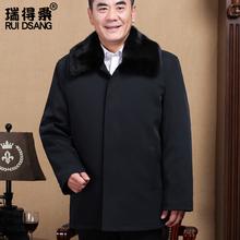 中老年棉衣男加厚冬装外套爸爸装老年男装老人棉衣爷爷装冬季棉袄