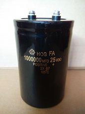 日立汽车超级电容 25V1000000UF 16V 汽车电源电池电容 现货