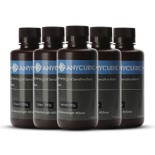 Machine Consumables Photosensitive Resin Brown Bottle ANYCUBIC Photocurable 3D Packing 500g/1000g