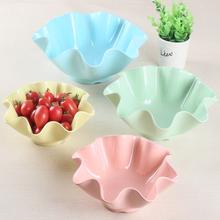 水果盘家用客厅创意塑料欧式简约现代果盘茶几可爱北欧零食瓜子盘