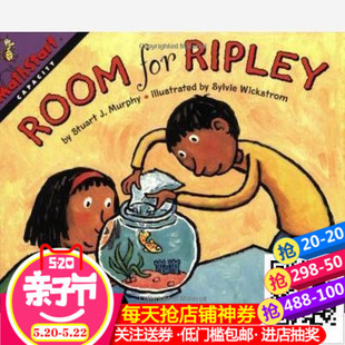 英文原版MathStart Level 3:Room for Ripley 李普丽的房间
