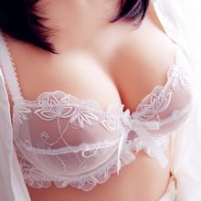 乳罩无海绵 蕾丝内衣女士文胸套装 性感爆款 欧美透气大码 特价 超薄款