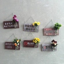 植物装 饰品面壁饰家居水仿真壁挂墙饰创意其他工艺饰品美式乡村