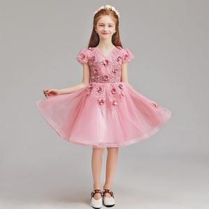 儿童礼服 span class=h>女童 /span>公主裙子小女孩生日晚装时尚 span