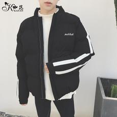 冬季外套男棉服ulzzang面包服韩版潮流港风bf情侣装小棉袄子短款